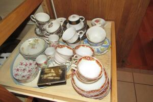 Heritage Hall ironstone cups and saucers