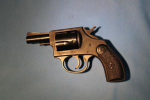 Iver Johnson's Arms 38 special, 5-shot revolver
