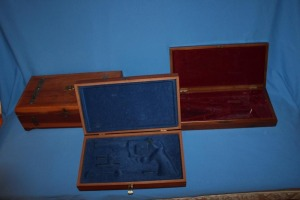 2 lined gun boxes