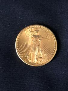 1927 Double Gold Eagle