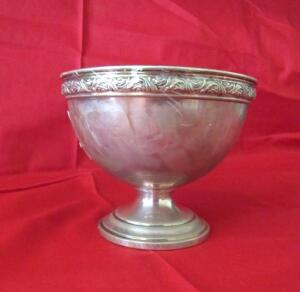 Alvin sterling footed bowl S105