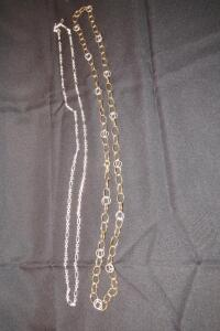 "950 chain 36"" L, approx. 21.9 grams"