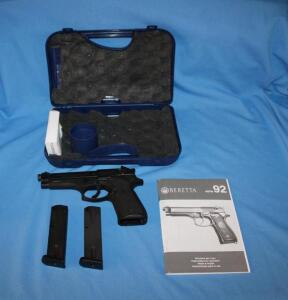 Beretta Model 92FS-caliber 9mm perabellum, NIB