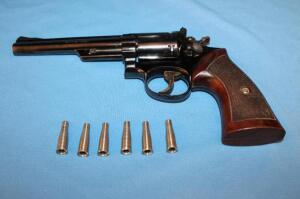 Smith & Wesson Model 53, 22 Remington Jet Magnum revolver
