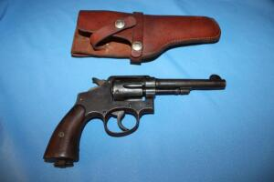 Smith & Wesson Victory Model 38, 6-shot revolver
