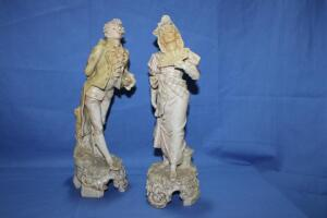 Pair of Victorian figurines