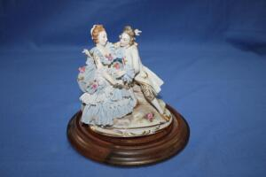 Victorian couple, made in Germany