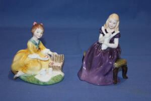 Royal Doulton figurines, Picnic and Affection