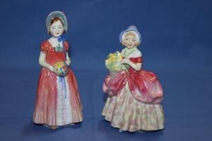 "Royal Doulton figurines, Cissie and ""Diana"""