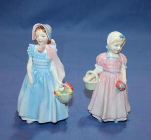 Royal Doulton figurines, Wendy and Tinkle Bell