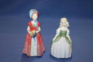 "Royal Doulton figurines, Penny and ""Diana"""