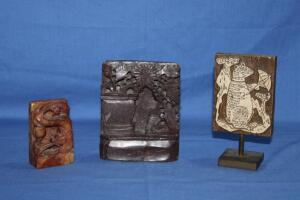 Soapstone and other carved items