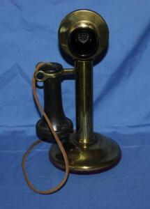Western Electric vintage candlestick phone