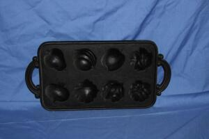 Cast iron sugar molds