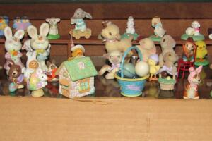 Easter Hallmark and other miniatures
