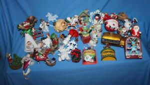 Hallmark and other ornaments