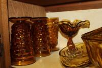 Amber glass pieces - 4