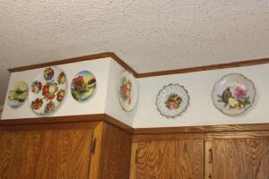 Collection of collectible plates