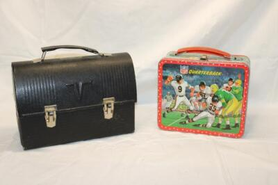 Aladdin NFL lunch box, no thermos