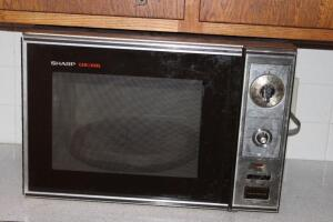 Older Sharp Carousel microwave