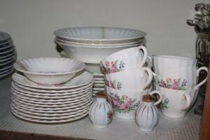 Knowles China, some with damage