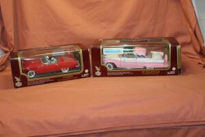 Road Legends 1955 Ford Fairlane 1/18 die cast car