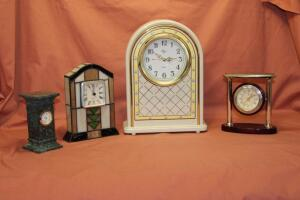 Elgin and other battery operated clocks