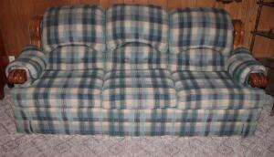 England Corsair Inc. upholstered couch