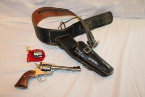 Ruger 22 New Model single 6 revolver