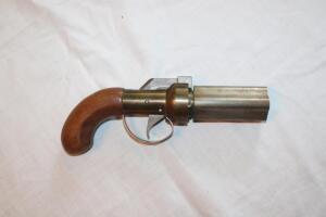 Black powder 4 shot revolver