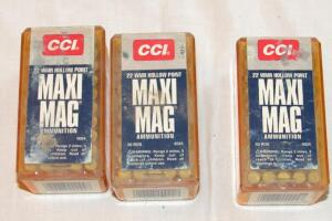 CCI 22 magnum rim fire hollow points