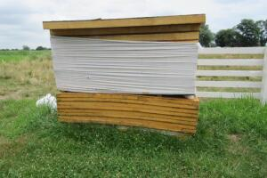 Stack of insulation panels, 4'x8'