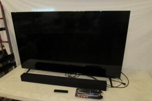 "Vizio 55"" flat screen TV Model E55-D0 with remotes"