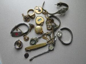 Timex, Bulova, Caraville and other watches, some vintage