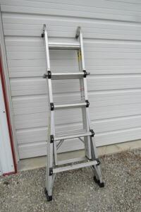 Cosco World's Greatest 17' aluminum extension ladder