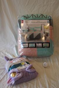 Mainstays full size 8 pc comforter set NIB