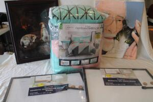 Mainstays queen size 8 pc comforter set