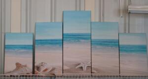 5-piece canvas scenery scene