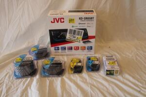 JVC head unit KD-SR85BT NIB