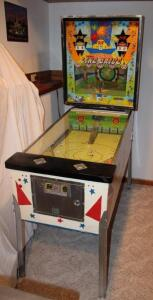 Williams Line Drive pinball machine