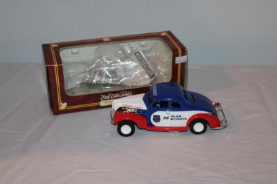 "Ertl 1940 Ford Modified Coupe ""Liberty Fleet"" bank"