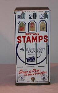 Sherman Mfg. postage stamp machine