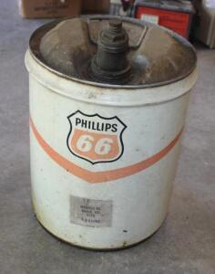 Phillips 66 fuel can