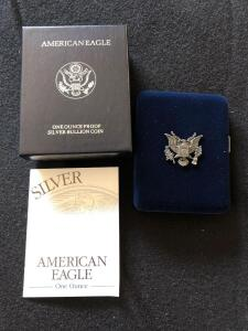 1996 American Eagle silver proof