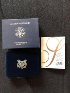 2007 American Eagle Silver proof