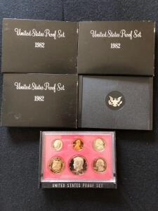 1982 United States Proof Sets