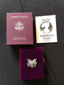 1990 American Eagle silver proof