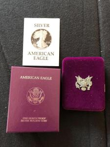1987 American Eagle Silver Proof