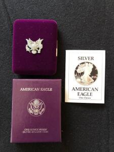 1988 American Eagle Silver Proof