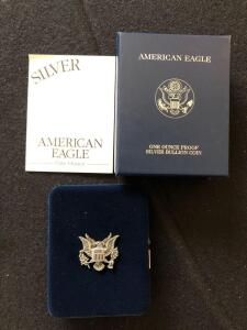 2001 American Eagle Silver Proof
